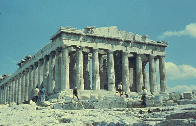 Храм Артемиды в Эфесе. Герон.
