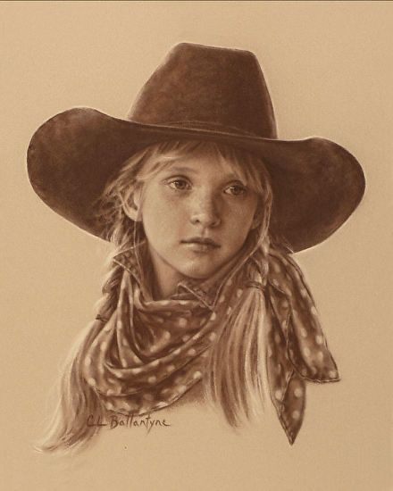 Рисунок карандашом Конте