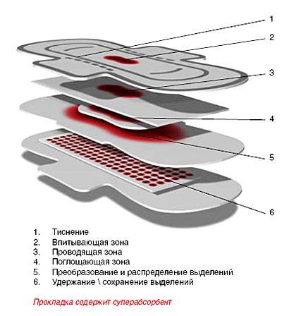 Структура современной прокладки