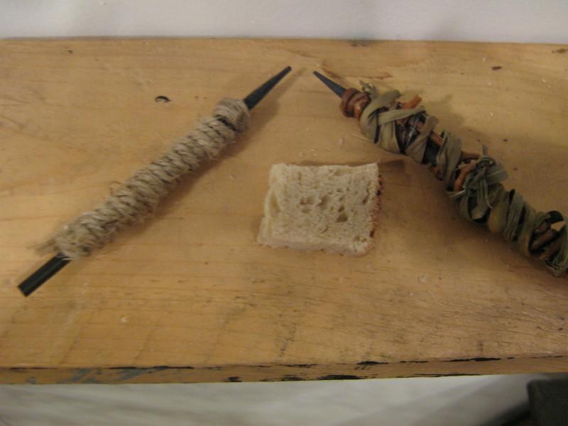Карандаш в тесьме и верёвке