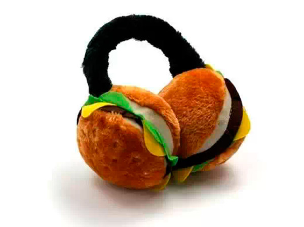 Наушники-гамбургеры