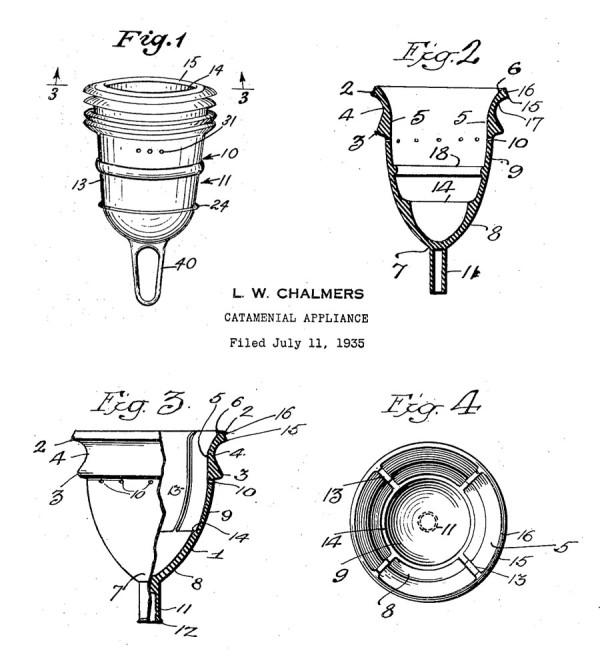 Патент многоразовой менструальной чаши