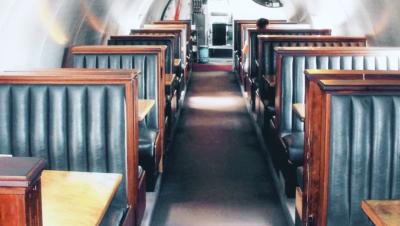 Ресторан в самолёте