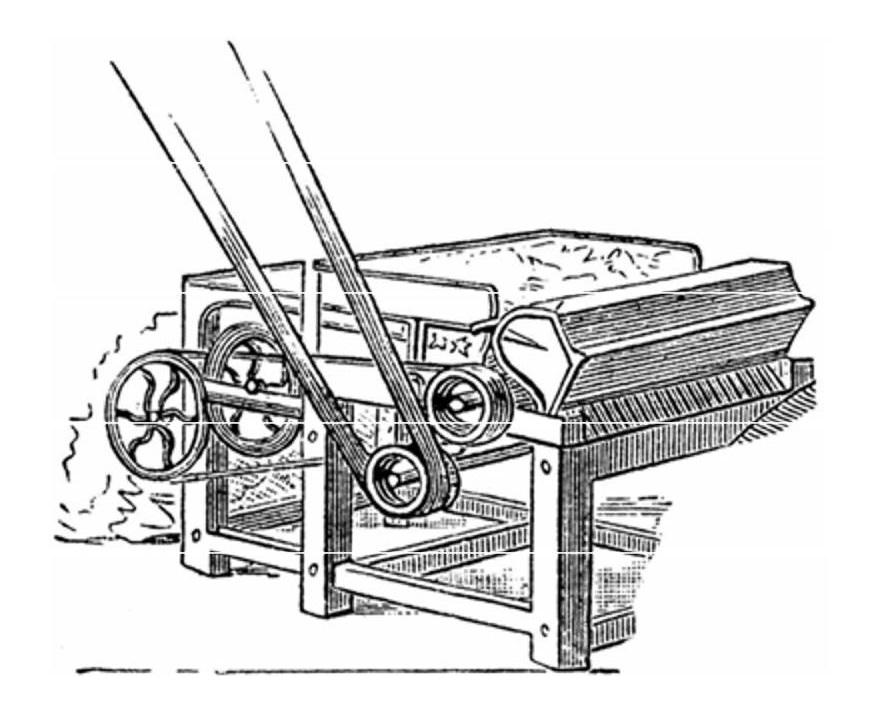 Машина Уитни для фильтрации хлопка