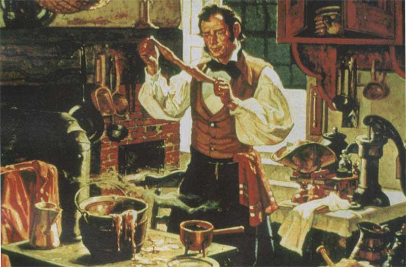 Чарльз Гудьир создаёт вулканизированную резину