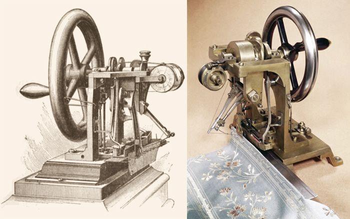 Швейная машинка Элиаса Хоу