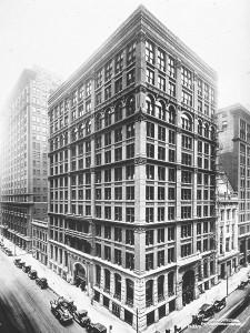 The Home Insurance Building (Здание домового страхование) -- первый в мире небоскреб, построенный в 1885 году в Чикаго, США, снесён в 1931 году.