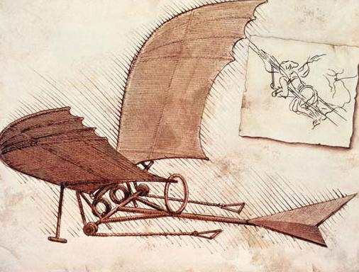 Махолёт Леонардо да Винчи