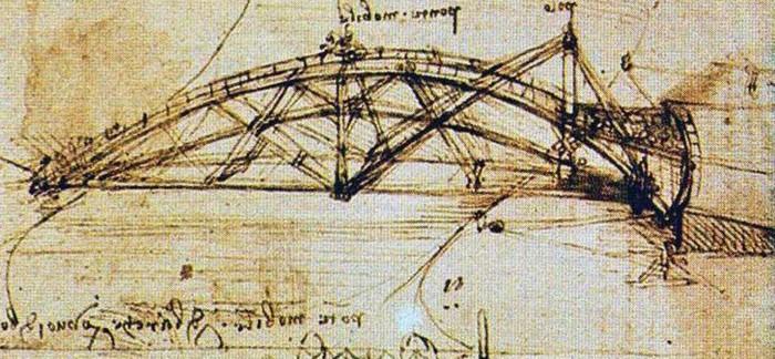 Поворотный мост Леонардо да Винчи
