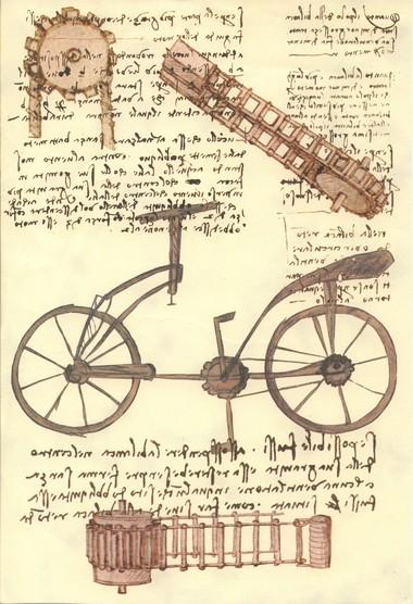 Велосипед Леонардо да Винчи