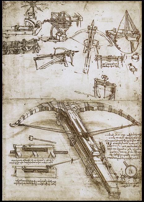 Гигантский арбалет Леонардо да Винчи