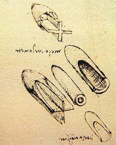 Килевидные снаряды для пушки