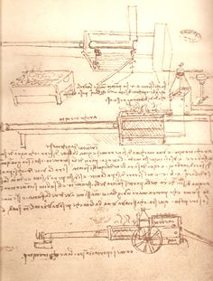 Паровая пушка Леонардо да Винчи