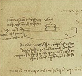 Подводная мина Леонардо да Винчи
