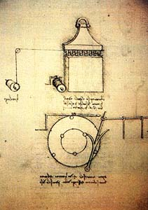 Часовой механизм Леонардо да Винчи 6