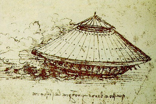 Эскиз танка Леонардо да Винчи