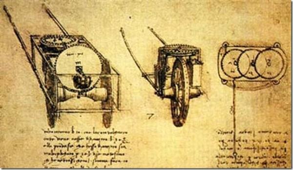 Одометр Леонардо да Винчи