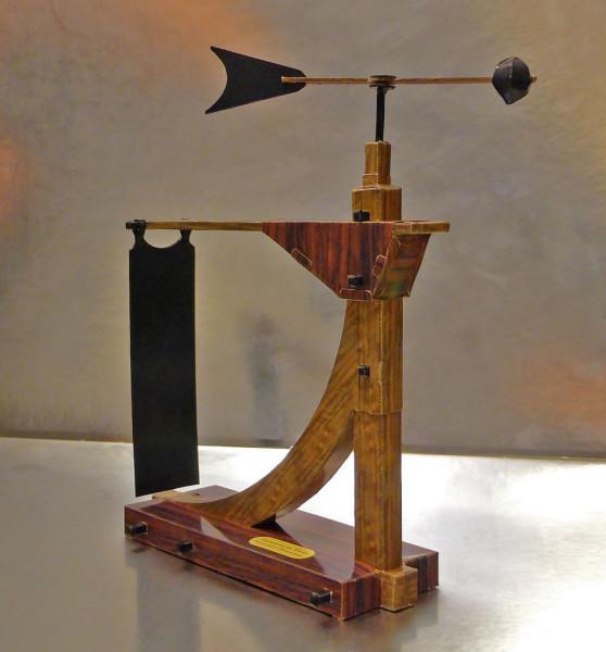 Модель анемометра Леонардо да Винчи