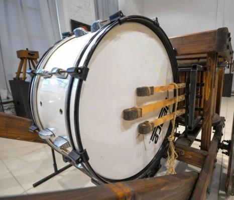 Реконструкция военного барабана Леонардо да Винчи