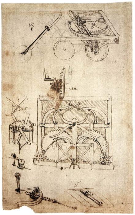Автомобиль Леонардо да Винчи