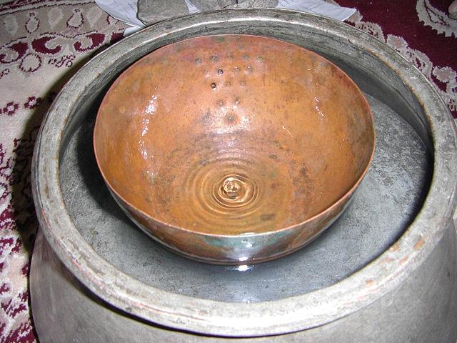 Древнеперсидские водяные часы
