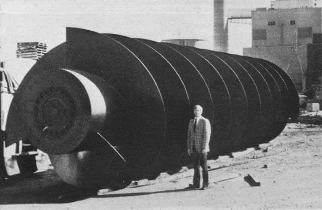 Винт Архимеда, использующийся в США